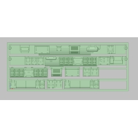 T-101 E231-0 床下機器セット (SC61型SIVタイプ) (TOMIX用)