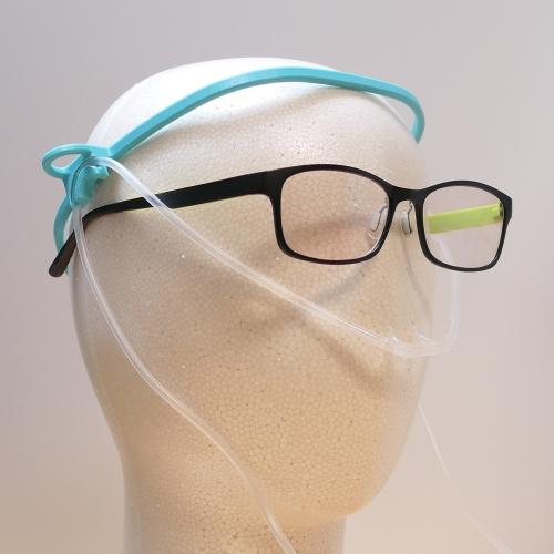 酸素鼻孔カニューラ用クリップ(耳もどき)