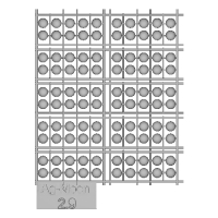Ag-Moon足つきボタン 2.9mm 100個