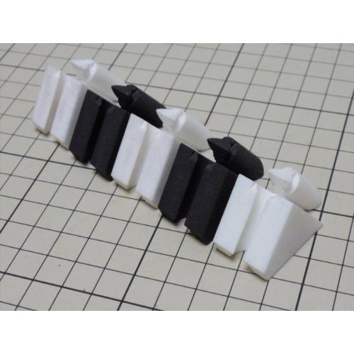 組木屋5ピースジグソーパズル・ブラック(全ピース)