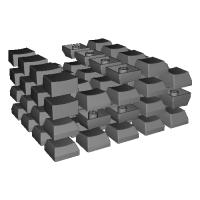 TL Split Keyboard用キーキャップ