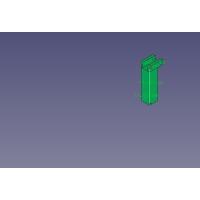 LILLABO用踏切キット(1/2)のバーの支柱だけ