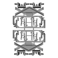 キハ40形スカート・胴受けパーツ(トラムウェイ用)