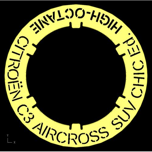 フューエル CT-3504 CITROEN C3 AIRCROSS SUV CHIC Ed.