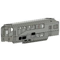 KNR 近畿日本 Nゲージ20000系「楽」先頭車 ク20151タイプ