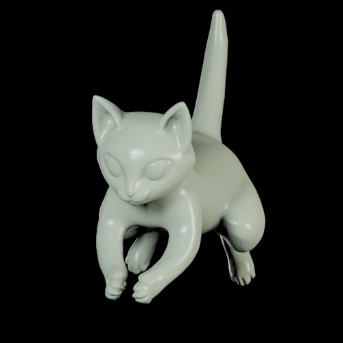猫型メモホルダー