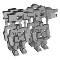 クラッチャー0103(2種×2体セット).stl
