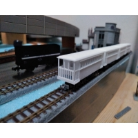 Nナロー西武山口線風客車1 4両セット