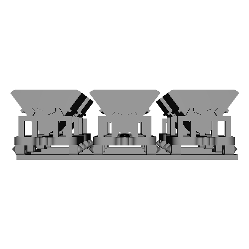 Nナロー用 ダンプ系貨車 II 6両セット