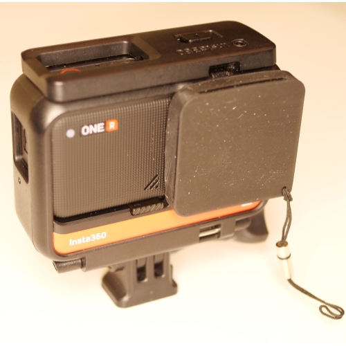 Insta360 ONE Rの4kレンズモジュール用カバー ver2