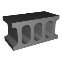 1/12コンクリートブロック 基本ブロック