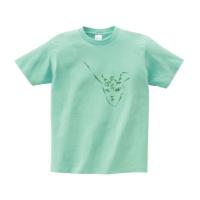 THOR DEER Tシャツ XL アイスグリーン