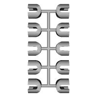 ワイヤークリップ(10個)