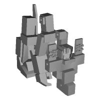 クラッチャー02ヴァリアント(スタンダードフレームセンサー強化ヘッド)(可動素体).stl