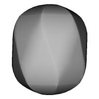 曲面型7面ダイス(無刻印)