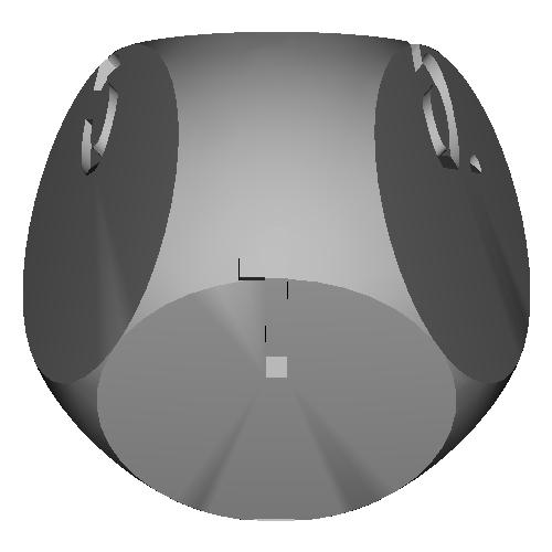 欠球型7面ダイス