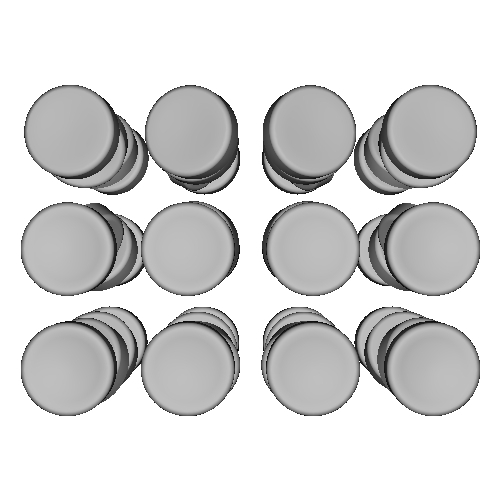 薙刀式キーキャップ【サドルプロファイル】コルネなど用48個セット