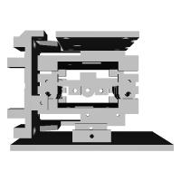 卓上ペンプロッタフレームキット+ボールペンアダプタ(バラバラバン)
