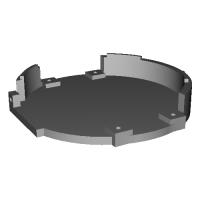 PiZeroケース For ZAKU HEAD (+ファンマウント)
