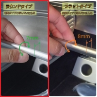 ロータスエリーゼ(ラウンド形状)用クリップタイプスマホホルダー取付パーツ
