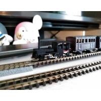 N(9.0mm) へっついタイプ機関車 ボディ+シャーシ