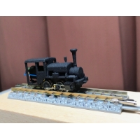 Nナロー(6.5mm) 準へっつい(サドルタンク)タイプ機関車 ボディ+シャーシ