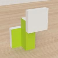 「立方体を3分割し美を表現する」という課題 16
