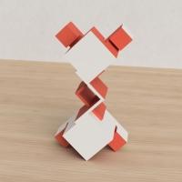 「立方体を3分割し美を表現する」という課題 18