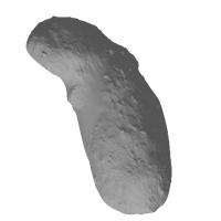小惑星イトカワの1万分の1の模型