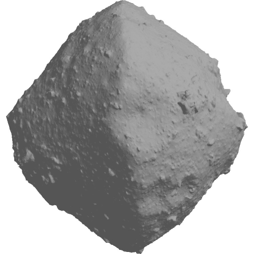 小惑星リュウグウの2万分の1の模型