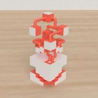 「立方体を3分割し美を表現する」という課題 21