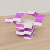 「立方体を3分割し美を表現する」という課題 24