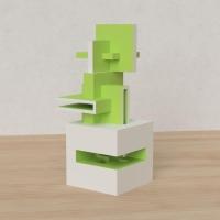 「立方体を3分割し美を表現する」という課題 29