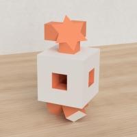 「立方体を3分割し美を表現する」という課題 33