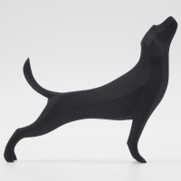 Weekly Sculpture 4『stretching dog』