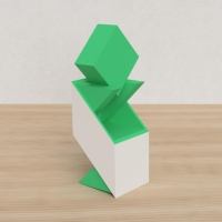 「立方体を3分割し美を表現する」という課題 34