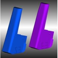 Fusionグリップ-エッジ&ストレートボトム3°右利き用