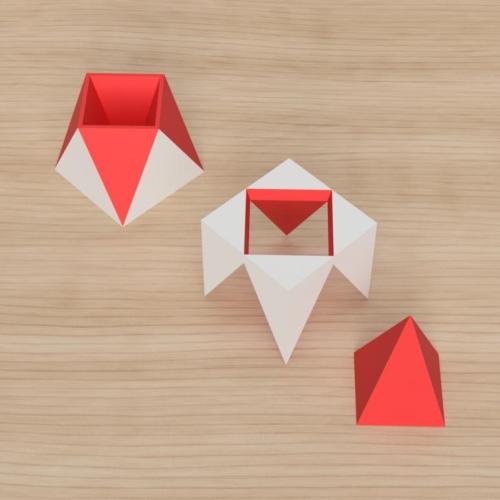 「立方体を3分割し美を表現する」という課題 35