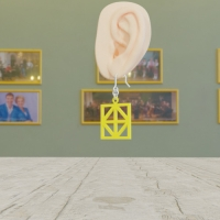 NIZIU で有名になった形のイヤリング