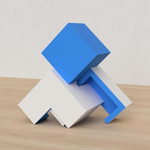 「立方体を3分割し美を表現する」という課題 36