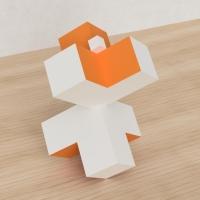 「立方体を3分割し美を表現する」という課題 37