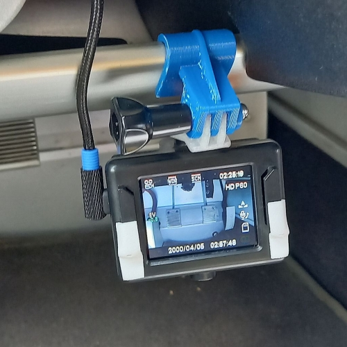ロータスエリーゼ足元車載カメラマウント(S2前期用)