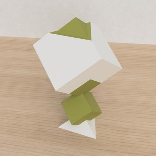 「立方体を3分割し美を表現する」という課題 38
