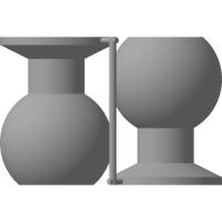 (汎用) ボールジョイント[ボール部側] 16Φ x2個セット