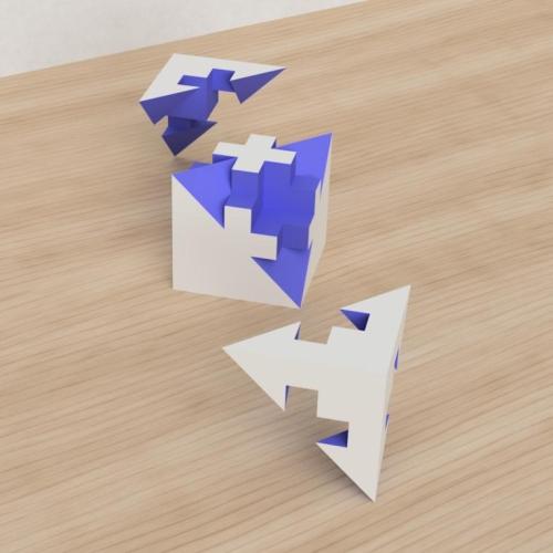 「立方体を3分割し美を表現する」という課題 39