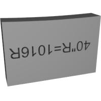 指板Rチェッカー 1016R=40R
