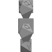 ヘブライ数字ダイス(10面,8面,6面)