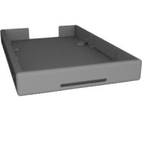 2.5インチHDD+変換コネクタ ケース