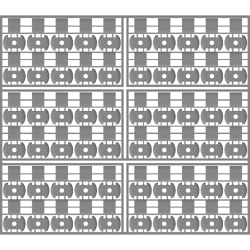 AU112型クーラー(60個入,KATO/TOMIX兼用)