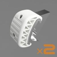 ロータス エリーゼ エキシージ用ブレーキ&クラッチペダルオフセットスペーサー20mm(2個)